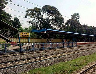 Kalyani, West Bengal - Kalyani Railway Station