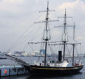 Tsushima incident - A modern replica of Kankō Maru