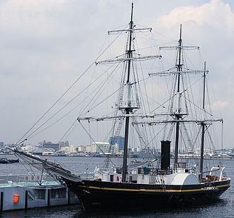 Japanese barque Kankō Maru - Kankō Maru (replica)