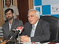 Kapil Sibal addressing the media, at a felicitation ceremony of young geniuses of India who participated at the International Science and Engineering Fair (ISEF) 2008 in Atlanta under the IRIS (Initiative for Research and.jpg