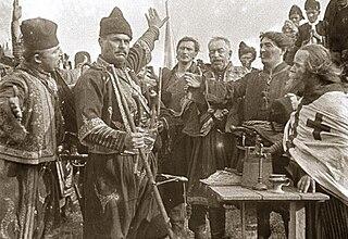 <i>The Life and Deeds of the Immortal Leader Karađorđe</i> 1911 film by Ilija Stanojević