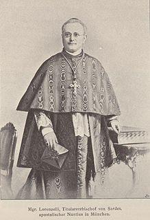 Benedetto Lorenzelli Catholic cardinal