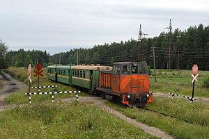 Narrow-gauge railways in Russia - TU7A–3042, Kirov Oblast