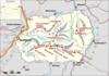 100px karte kaisergebirge