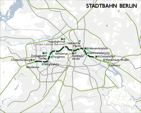 image illustrative de l'article Stadtbahn de Berlin