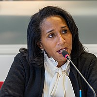 Karyn Temple U.S. Copyright Office Official at Panel Discussion on Women in Creative Industries (cropped).jpg