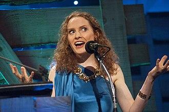 Kate Williams (historian) - Williams at the Royal Albert Hall for the 2014 BBC Radio 2 Folk Awards