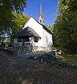 Kathreinkogel Antike Höhensiedlung 8 Grundmauern Frühchristliche Kirche.jpg