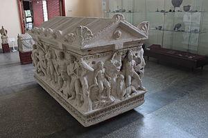 Kayseri Archaeology Museum - Heracles sarcophagus