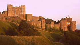 Keep and entrance of Dover Castle, 2007.jpg