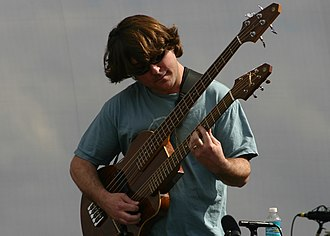Keller Williams - Williams at Langerado Music Festival   March 9, 2008 Photo: Steve Moyles