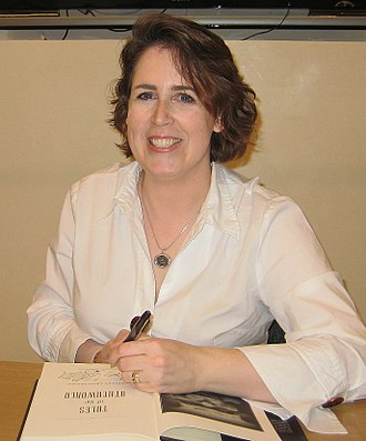 Kelley Armstrong - Armstrong at a book-signing in 2010
