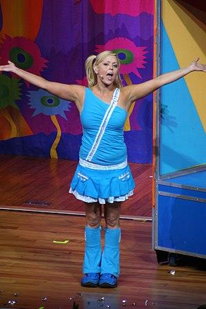 Kellie Crawford - Crawford performing in 2006