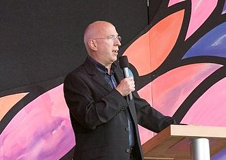 Ken Bruce - Bruce presenting BBC Proms in the Park in 2006