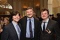 Ken Burns, Ron Simon and Beau Willimon, May 2014.jpg