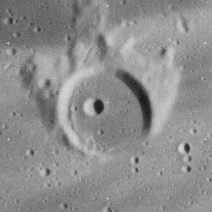 Kepler (lunar crater) - Image: Kepler D crater 4144 h 1