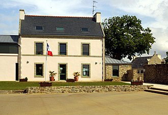 Kerlaz - The town hall in Kerlaz