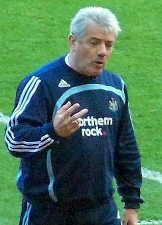 Newcastle United F.C. - Kevin Keegan (pictured in his second spell in 2008) guided Newcastle to promotion and Champions League football from 1992 to 1997, turning United into one of the biggest clubs in England despite not winning the league