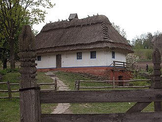 Pyrohiv - Fire safety is a significant concern as most of the museum's structures are wooden, and many houses have thatched roofs.