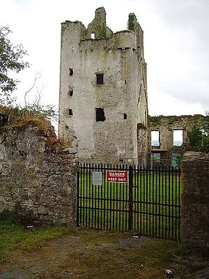 Kilcash Castle - Castle tower