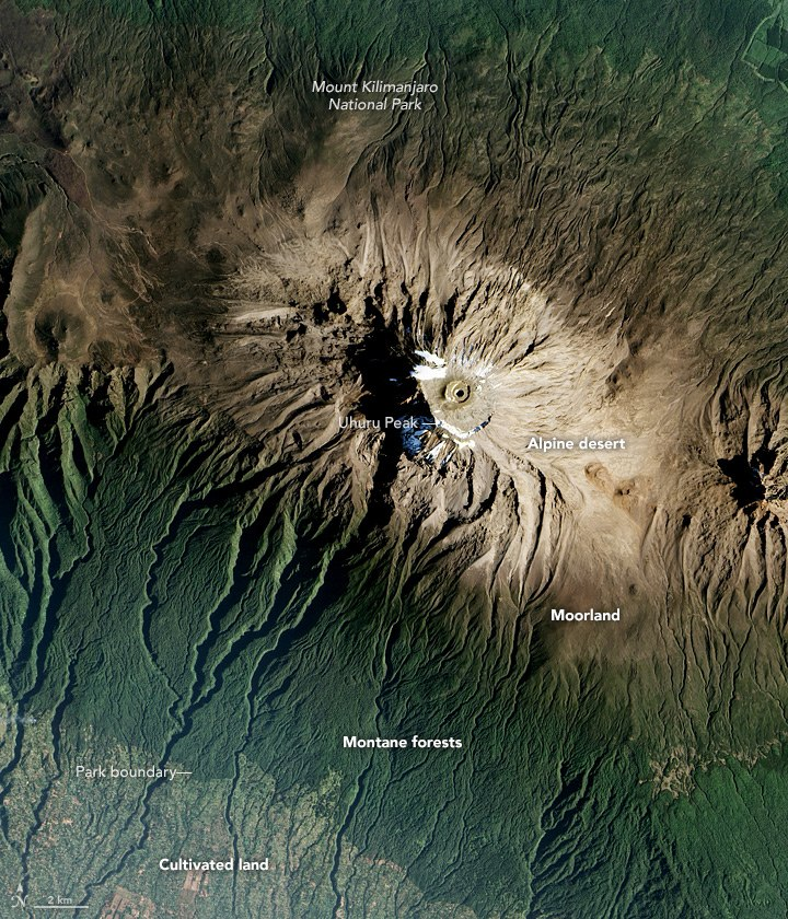 Kilimanjaro from space 2016.jpg