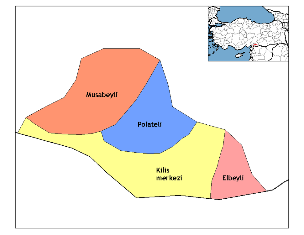 Kilis districts