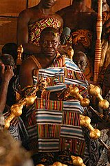 King Asantehene Osei Tutu II of Asanteman