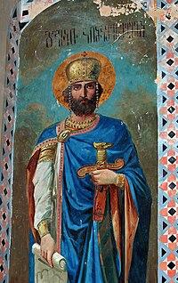 El rey David el Constructor, monasterio de Shio-Mghvime