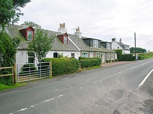 Kingsford, East Ayrshire - Image: Kingsford, old cottages