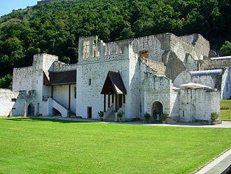 Visegrád - Image: Királyi palota maradványai (7594. számú műemlék) 6