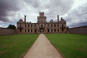 Kirby Hall - Image: Kirbyhall northamptonshire photograph by robert kilpin