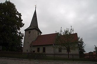 Elbe, Lower Saxony - Church in Klein Elbe