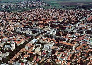 Kiskunfélegyháza - Aerial view