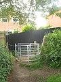 Kissing gate near St. David's Park - geograph.org.uk - 1903006.jpg