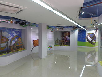 Kite Museum (Melaka) - Kite Museum exhibition hall