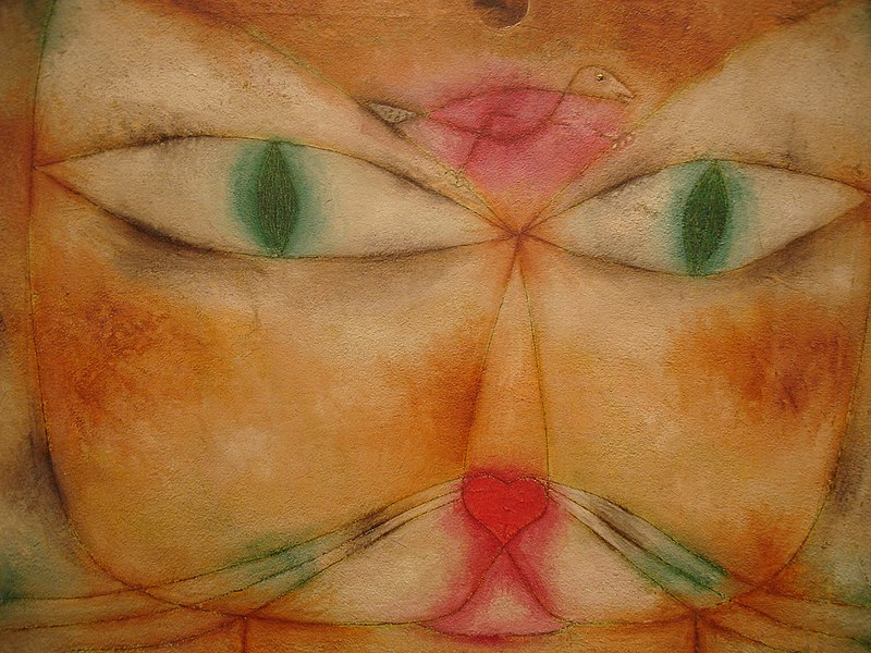 Archivo:Klee Paul Cat and Bird.jpg