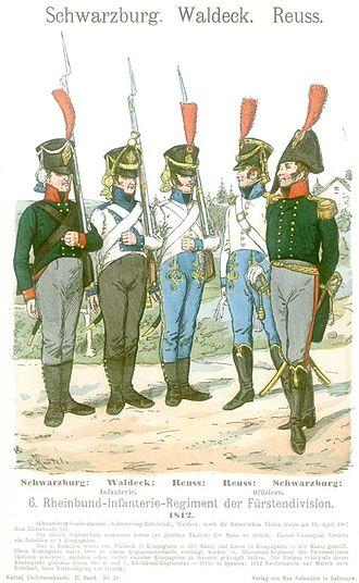 François Xavier de Schwarz - 6th Confederation of the Rhine Regiment