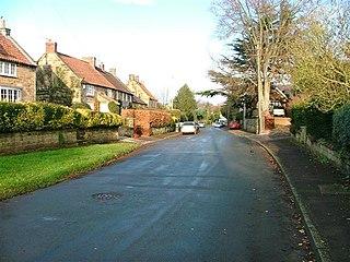 Knayton village in United Kingdom