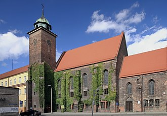Racibórz - Former Holy Spirit Church, now a museum, 14th century