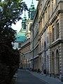 Kościół św. Krzyża. Widok od podwórza - panoramio - Tadeusz Dąbrowski.jpg