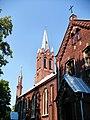 Kościół Mariawitów pw. św. Jana Chrzciciela, zbudowany w roku 1908, w stylu neogotyckim. - panoramio (2).jpg
