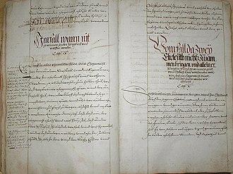 Bad Friedrichshall - town and court routine of Kochendorf, 16th century