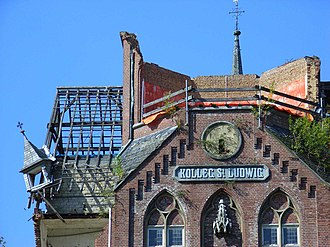 Kolleg St. Ludwig - Partial demolition