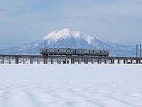 Konan7000 and Mt Iwaki.jpg