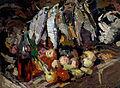 Konstantin Korovin - Рыбы, вино и фрукты - Google Art Project.jpg