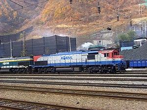 EMD GT26 Series - Image: Korail DL7516