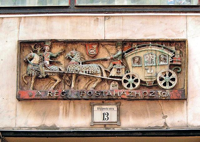 Numéro de porte à Budapest en Hongrie