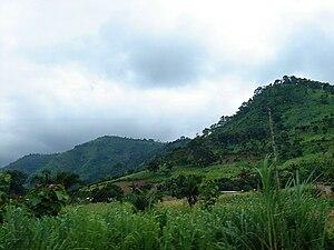 Kpalimé: Kpalimé hills, DSC00773 - by Fanfan
