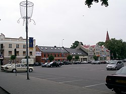 Kretinga city square