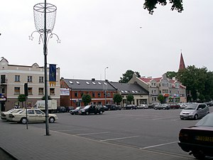 Kretinga - Kretinga city square